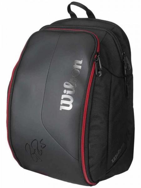 a9bd0b6754bd9 Wilson Federer DNA Backpack Tennisrucksack schwarz rot