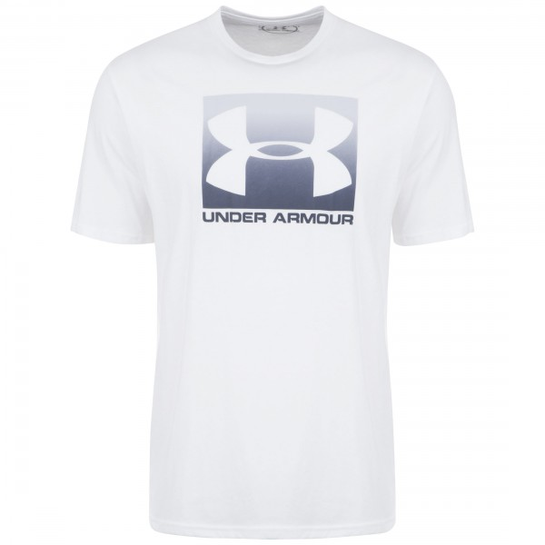 Under Armour Herren Boxed Sportstyle T-Shirt Funktionsshirt white-halo gray