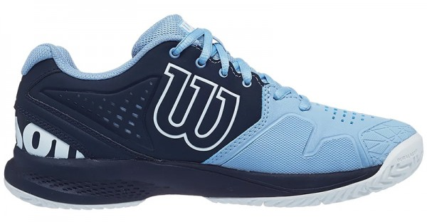 Wilson Damen Kaos Comp 2.0 Tennis Sandplatzschuh blau-hellblau-weiß