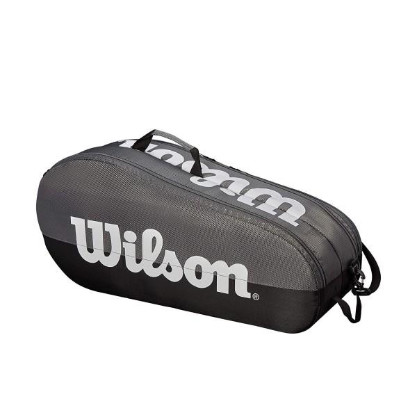Wilson Tennistasche Team 2 Comp GY grau/schwarz/weiß
