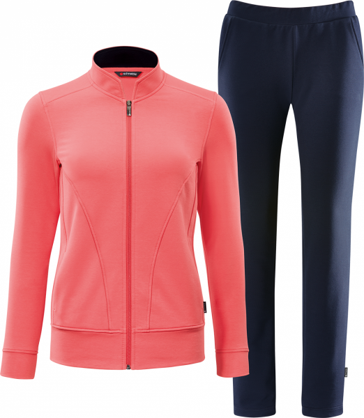 Schneider Damen Trainingsanzug Doty Pink/Blau