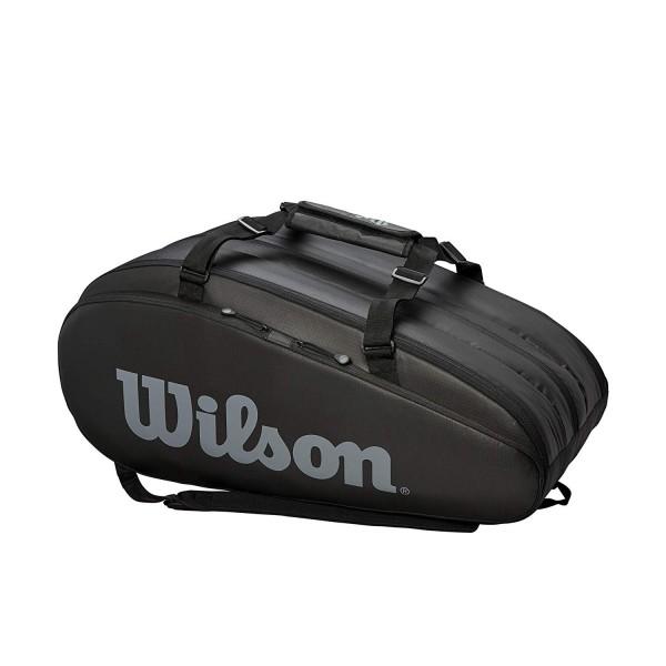 Wilson Tennistasche Tour 3 Comp schwarz/grau