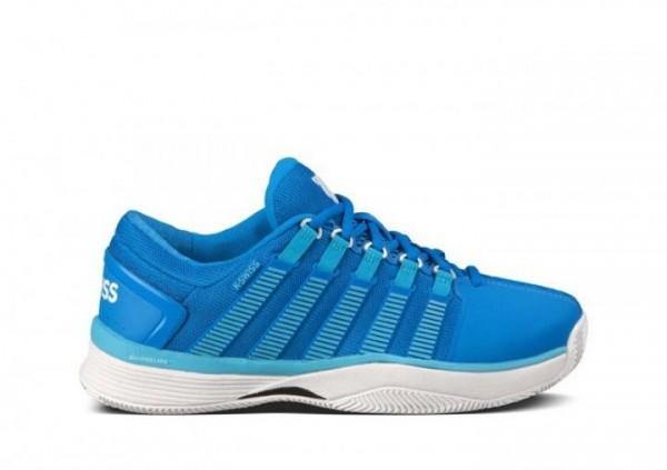 K-Swiss Damen Tennisschuhe außen Hypercourt blau
