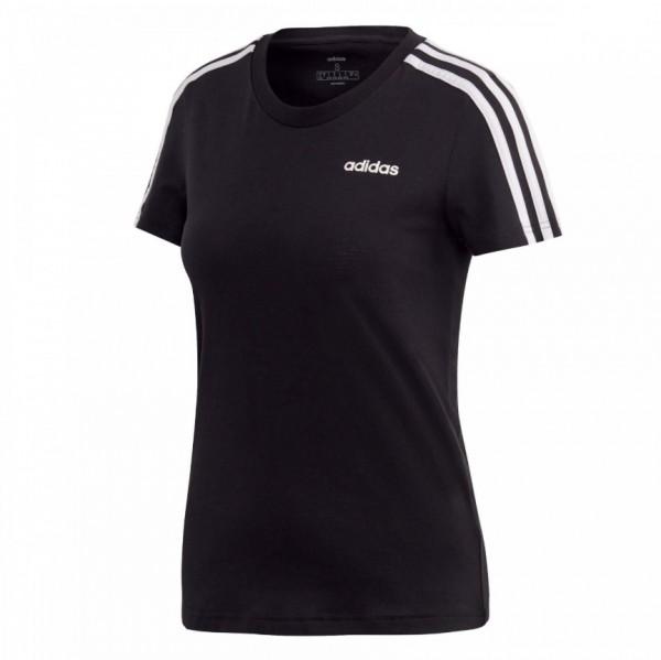 Adidas Damen T-Shirt 3 Streifen schwarz/weiß