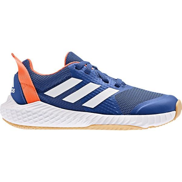Adidas Kinder FortaGym K Laufschuh blau-weiß-orange