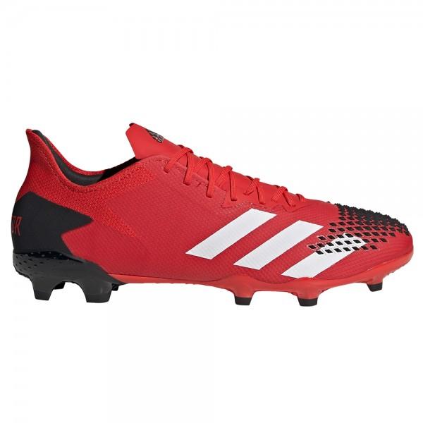 Adidas Herren Predator 20.2 FG Fußballschuh rot-weiß-schwarz