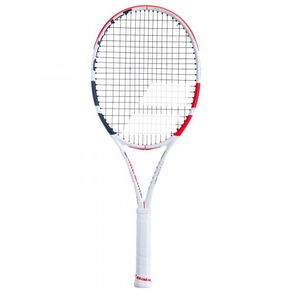 Babolat Pure Strike Team Tennisschläger unbesaitet weiß-rot-schwarz
