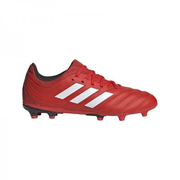 Adidas Kinder Copa 20.3 FG Fußballschuh rot-weiß