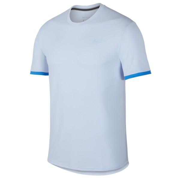 Nike Herren T-Shirt Court Dry hellblau