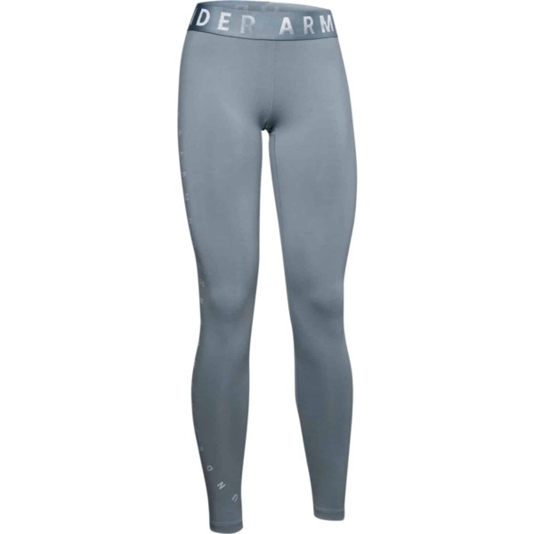 Under Armour Damen Favorite Graphic Leggings Tight hushed turquoise-halo gray