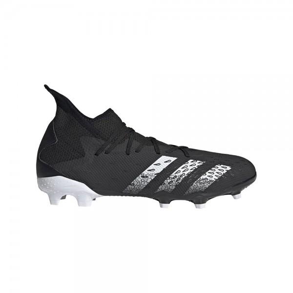 Adidas Herren Predator Freak 3 FG Fußballschuh schwarz-weiß