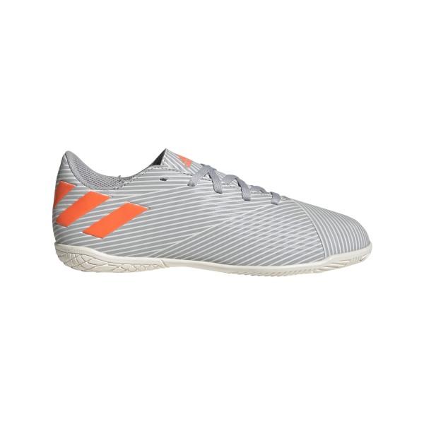 Adidas Kinder Nemeziz 19.4 IN Hallenschuh grau-orange-weiß