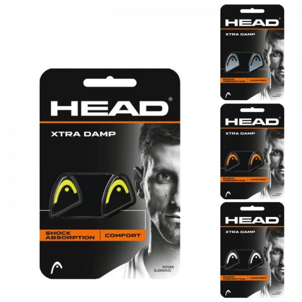 Head Xtra Damp 2er Vibrationsdämpfer schwarz orange weiss gelb