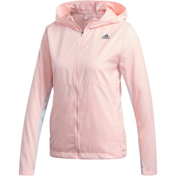 Adidas Damen Own The Run Jacket Laufjacke rosa