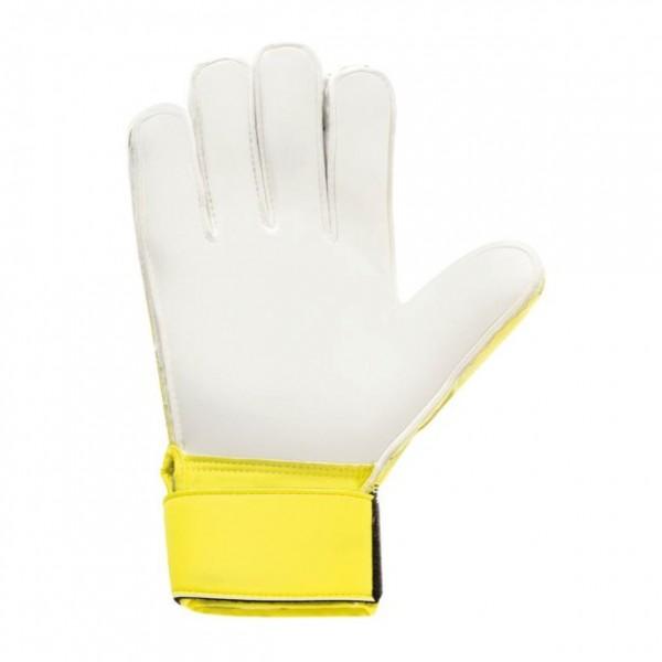 Uhlsport Kinder Soft SF + Torwarthandschuhe gelb-schwarz