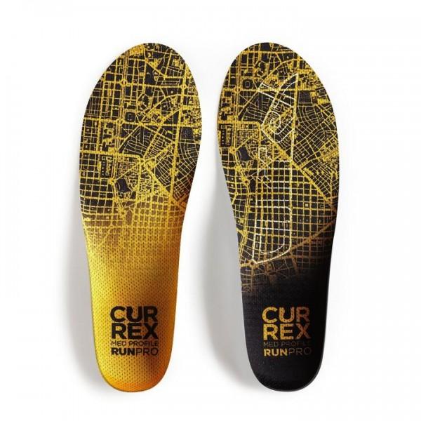 Currex Run Pro Lauf Einlegesohle medium gelb