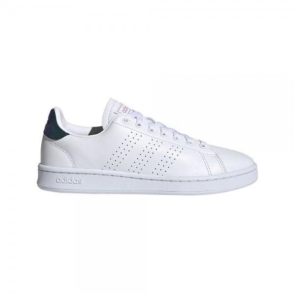 Adidas Damen Advantage Sneaker Freizeitschuh weiß