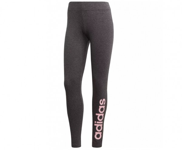 Adidas Damen Tight Essentials Linear Leggings grau