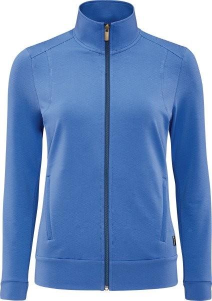 schneider sportswear Damen AURELIEW Freizeitjacke Trainingsjacke blau