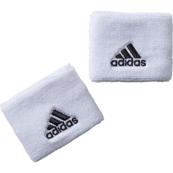 Adidas Performance Tennis Schweissband weiss/schwarz 2er Pack one size