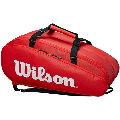 Wilson Tennistasche Tour 2 Comp Large rot/weiß