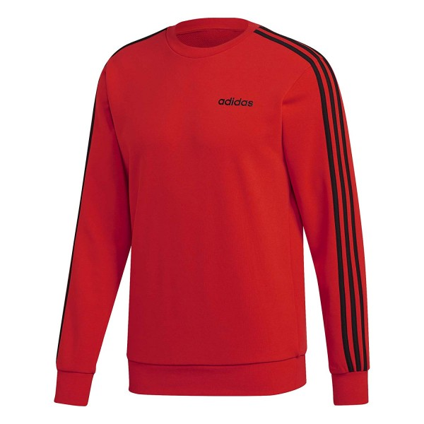 Adidas Herren Pullover 3S Crew Fit rot