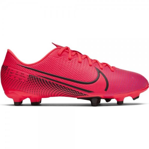 Nike Kinder Vapor 13 Academy FG/MG Fußballschuh rot-schwarz-lila