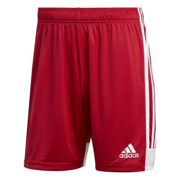 Adidas Herren Tastigo 19 Fußballshort Trainingsshort rot-weiß