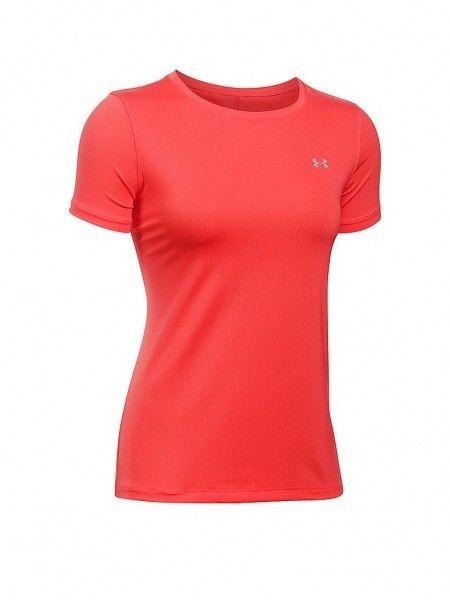 Under Armour HeatGear Sleeve Water T-shirt Damen Rot