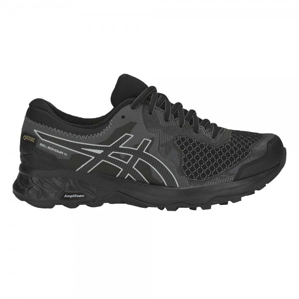 Asics Damen Outdoor GEL Sonoma 4 G-TX Trailrunningschuh Laufschuh schwarz