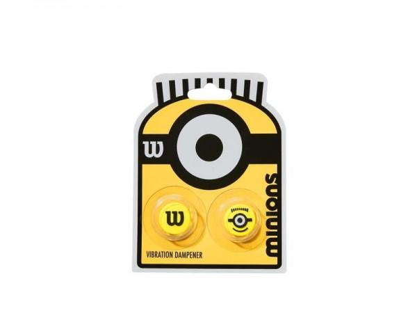 Wilson Minions Vibrationsdämpfer Dampener 2er Pack gelb-schwarz