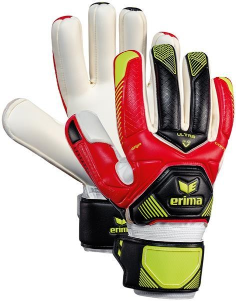 Erima Contact Ultra Grip 3.0 - rot/schwarz