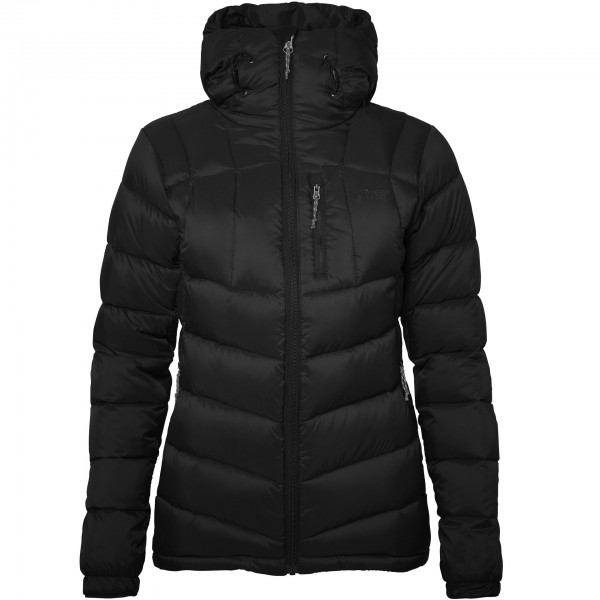 North Bend Damen Summit Daunenjacke Outdoorjacke schwarz