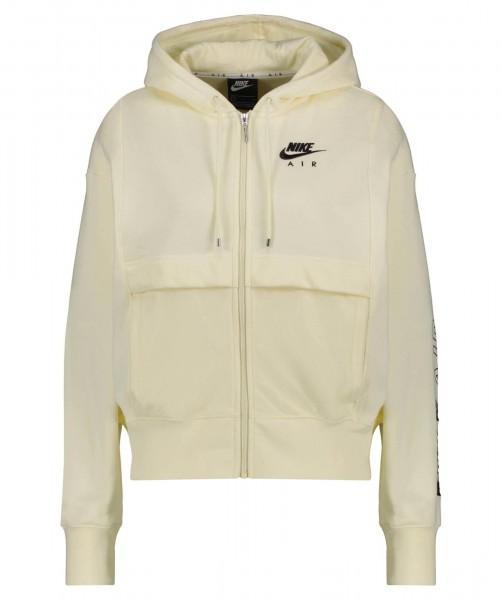 Nike Damen Sportswear Air Sweatjacke Kapuzenjacke beige