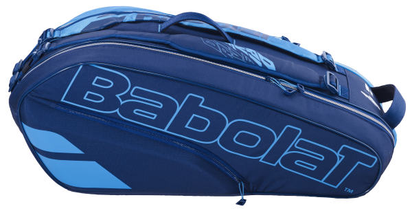 Babolat Pure Drive Racket Holder 6 Tennis Tasche blau