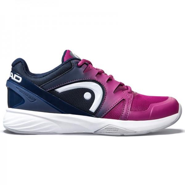 Head Damen Sprint Team 2.5 Carpet Tennisschuh lila-dunkelblau