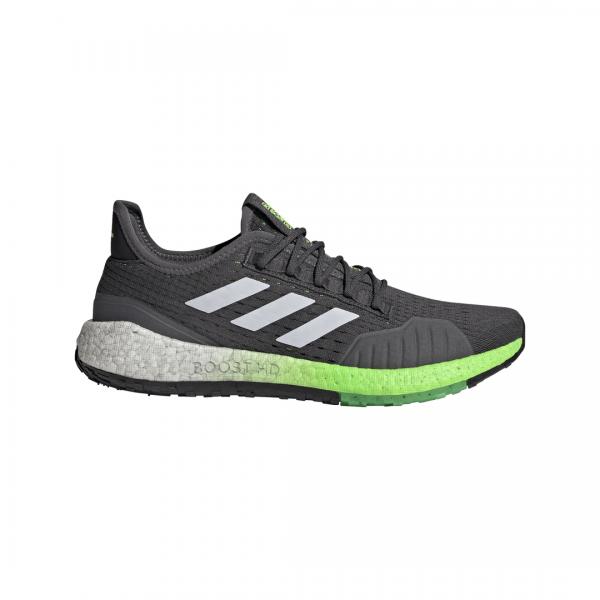 Adidas Herren Pulseboost HD Summer Ready Laufschuh grau-weiß-grün