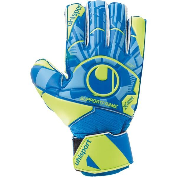 Uhlsport Radar Control SF Junior Torwart Handschuhe radar blau- fluo gelb