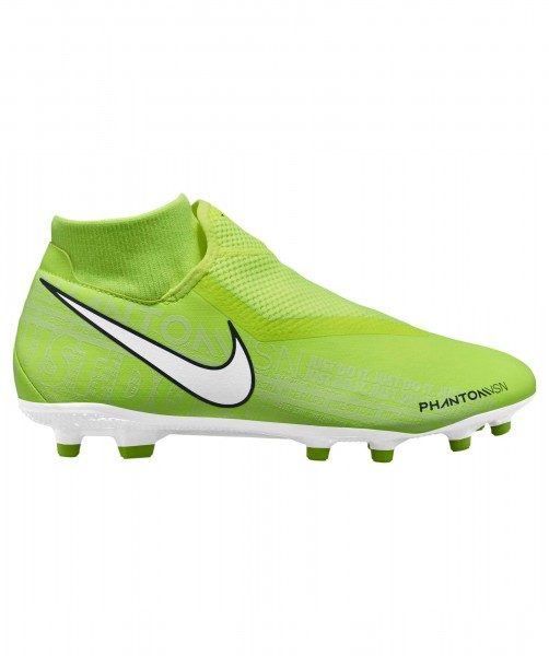 Nike Herren Phantom VSN Academy DF FG/MG neongelb weiß