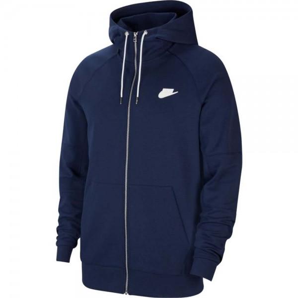 Nike Herren Sportswear Modern Full Zip Hoodie Kapuzenjacke blau