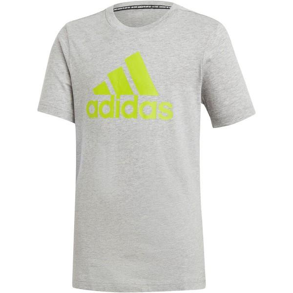 Adidas Jungen Must Have Badge of Sport T-Shirt grau