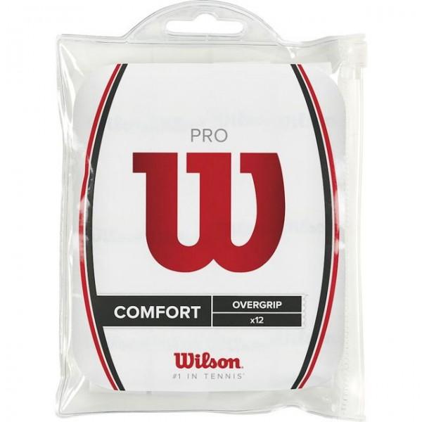 Wilson Pro Overgrip Comfort 12er Pack weiss