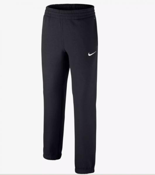 Nike Brushed Fleece Cufed Jungenhose schwarz