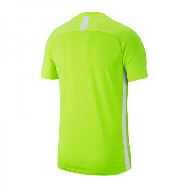 Nike Kinder Dri-Fit Academy 19 Trainings/ Fussballshirt kurzarm neongelb weiß