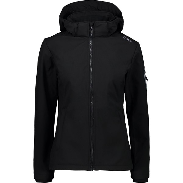 CMP Damen Softshelljacke Outdoorjacke schwarz