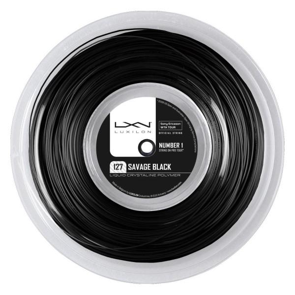 Luxilon Savage Black 1,27mm 200m Tennissaite