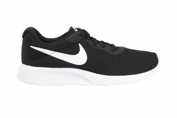 Nike Herren Tanjun Sneaker Freizeitschuh schwarz-weiß