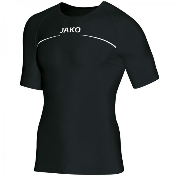 Jako Underwear Shirt Unisex Funktionsunterwäsche schwarz