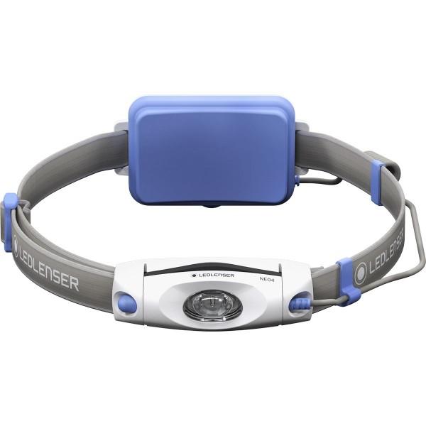 LED Lenser Neo 4 Lauflampe Stirnlampe blau