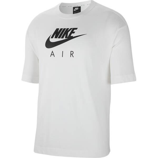 Nike Damen Air T-Shirt weiß-schwarz
